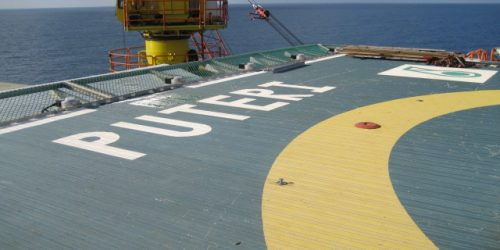 Deck Integrated Fire Fighting System in Puteri Platform 5